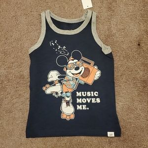 NWT Mickey Mouse Gap Tank Top 2 and 4